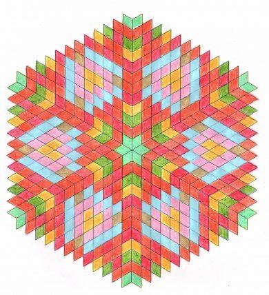 энергия мандалы многоугольники
